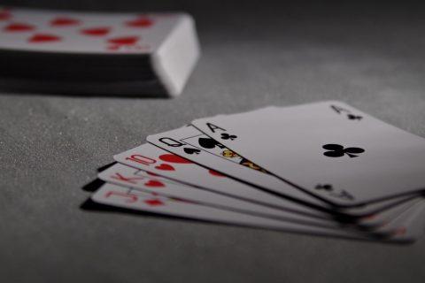 Imagen de una baraja de cartas,